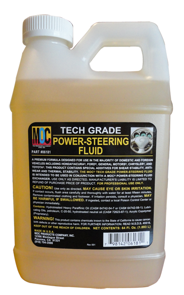 6181 - Tech Grade Power-Steering Fluid